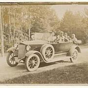 Vintage Photo of an Oldtimer