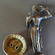 Old Bronze Buddha Figure