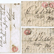 Imperial Austria, 3 Letters 1860s