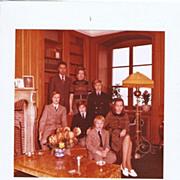 Carl, Duke of Württemberg and Wife Signed Photo 1975. CoA