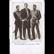 Tsar Nicholas vintage Postcard