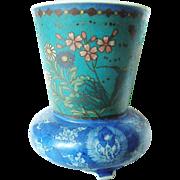 Antique Japanese Cloisonne Pocelain by Takeuchi Chubei