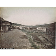 Japanese Albumen Photo from Miyanoshita.