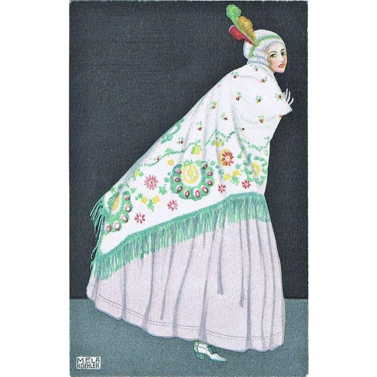 Mela Köhler Postcard