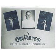 Cavalier Advertising Card for Juggler ca 1915