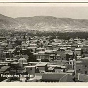 Damas in Syria: Panorama Postcard to Austria 1935