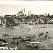 Old Turkey: Photo of the Suleymanyiye Mosque.