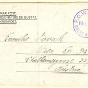 WW2: Prisoner of War Post. Great Britain
