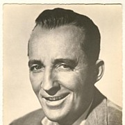 Bing Crosby vintage Photograph from Europe