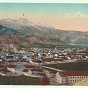 WW1: Military Government Cetinje Montenegro Postcard.