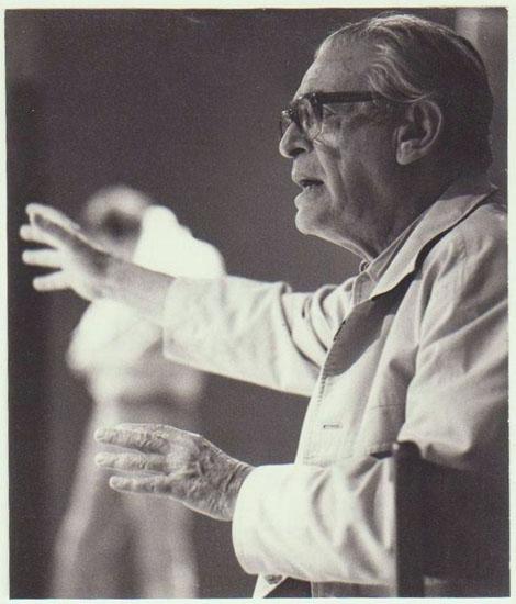 Jewish Director Leopold Lindtberg Studio Photo. 1982