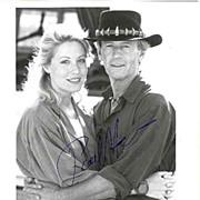 Paul Hogan Autograph. Crocodile Dundee. CoA