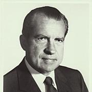 President Richard Nixon: 8 x 10 Photo from 1970s