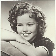 Shirley Temple Photograph. Larger Vintage Photo