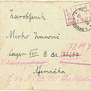 WWII: Mail from Penal Camp Belgrade. 1941