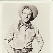 Rex Allen Autograph: Hand-signed Photo. CoA