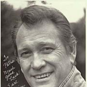 Earl Holliman Autograph: 8 x 10. CoA