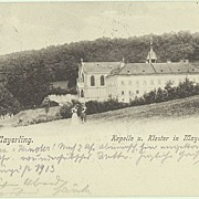 SOLD Mayerling vintage Postcard: Place of Murder-suicide of Crown Prince Rudolf