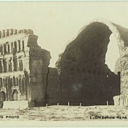 Iraq vintage Photo Postcard. Ctesiphon near Baghdad.
