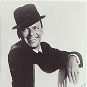 Frank Sinatra Photo with Autopen