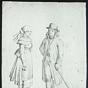 Bohemians: Etching from app. 1800