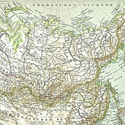 3 Maps related to Siberia- including North China. 1900
