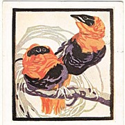 Fire Weavers: Art Deco Postcard by Bresslern Roth, 1930