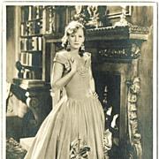Greta Garbo. Early Ross Photo.