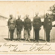 Mercanary Soldiers from Dutch East Indies 1901