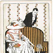 Art Nouveau Postcard, 1908