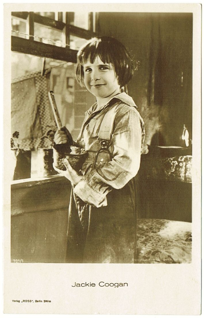 Jackie Coogan on early Ross Photo. 1920s