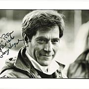 George Segal Autograph on 8 x 10 Photo. CoA