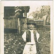 Romanian Midget. Old Photograph