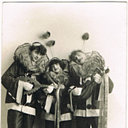 Art Deco Carnival Photo Postcard