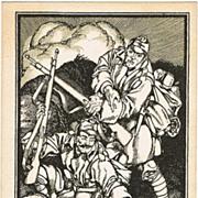 Josef Diveky Postcard to promote 1918 War Bonds