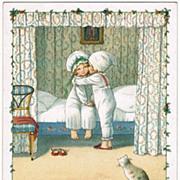 Sweet Darling Postcard by Pauli Ebner