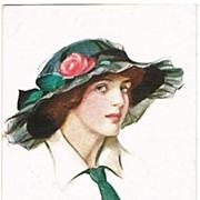 Sweet Seventeen Vintage Postcard by Court Barber