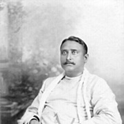 1912: Portrait Photo of an Indian gentleman