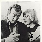 Elke Sommer autograph on b/w photo