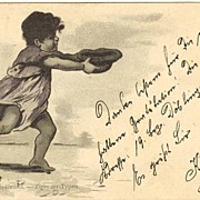 1898: Imperial Austria - Hungary: Lithographed Postcard of Gypsy Child