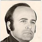 Jose van Dam Autograph: Early Photo of famous Bass. CoA