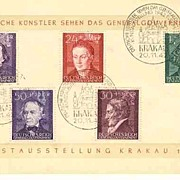 WWII : Poland / German:  German Artists reflecting……Set on Sheet