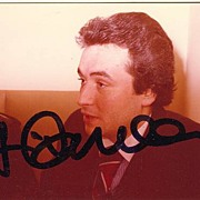 1977: Jose Carreras Autograph on private Photo. CoA