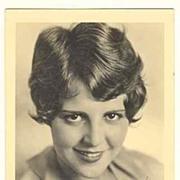 Sue Carol: Early Autograph on Photo. CoA