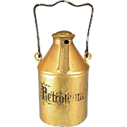 Antique German Dollhouse Gilt Sheet Metal Oil Can by Marklin 1880s – 1900s Large 1 ...