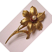 Boucher Narcissus Brooch/Pin