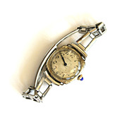 Lady Elgin circa 1924 14K Watch with Nickel-Plated Band