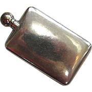 SALE Sterling Silver Perfume Flask