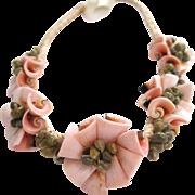 SALE Rush and Sea Shell Headband/Headwrap