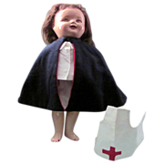 """SOLD Vintage Nurses' Uniform for 19"""" Madame Alexander and others.. Doll not included"""